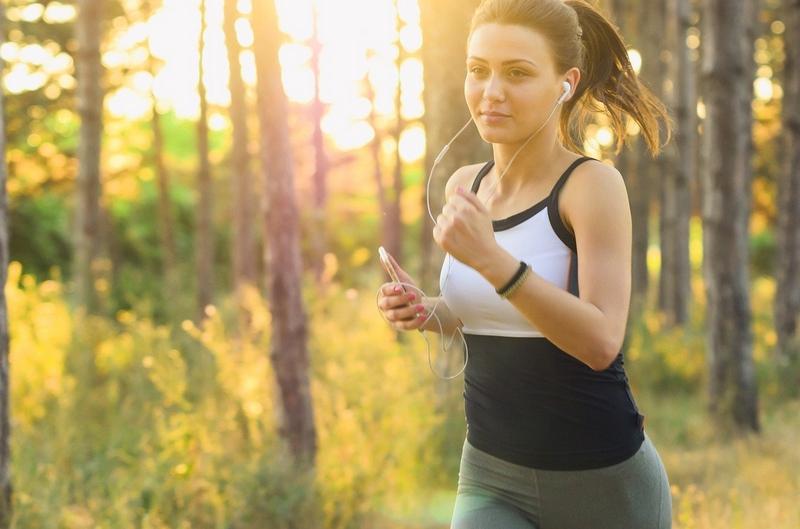 W lesie możesz biegać bez maseczki / Bochnianin.pl