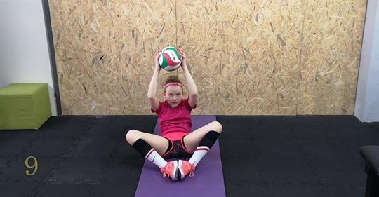 Ćwicz w domu – propozycja dla młodych siatkarek:-)
