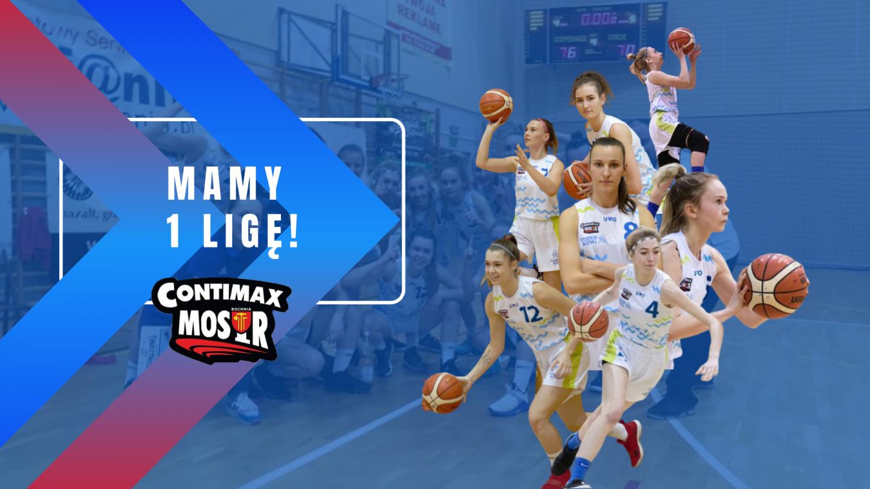 Mamy 1 Ligę Koszykówki Kobiet !!!