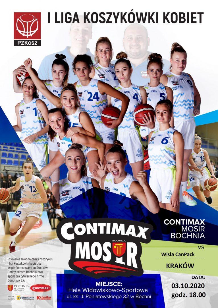 W weekend 2 mecze koszykówki kobiet: inauguracja 1 i 2 kolejka 2 ligi!