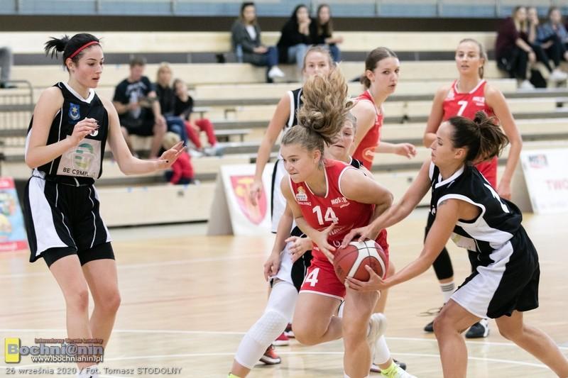 Inauguracja 2 Ligi Koszykówki Kobiet / relacja