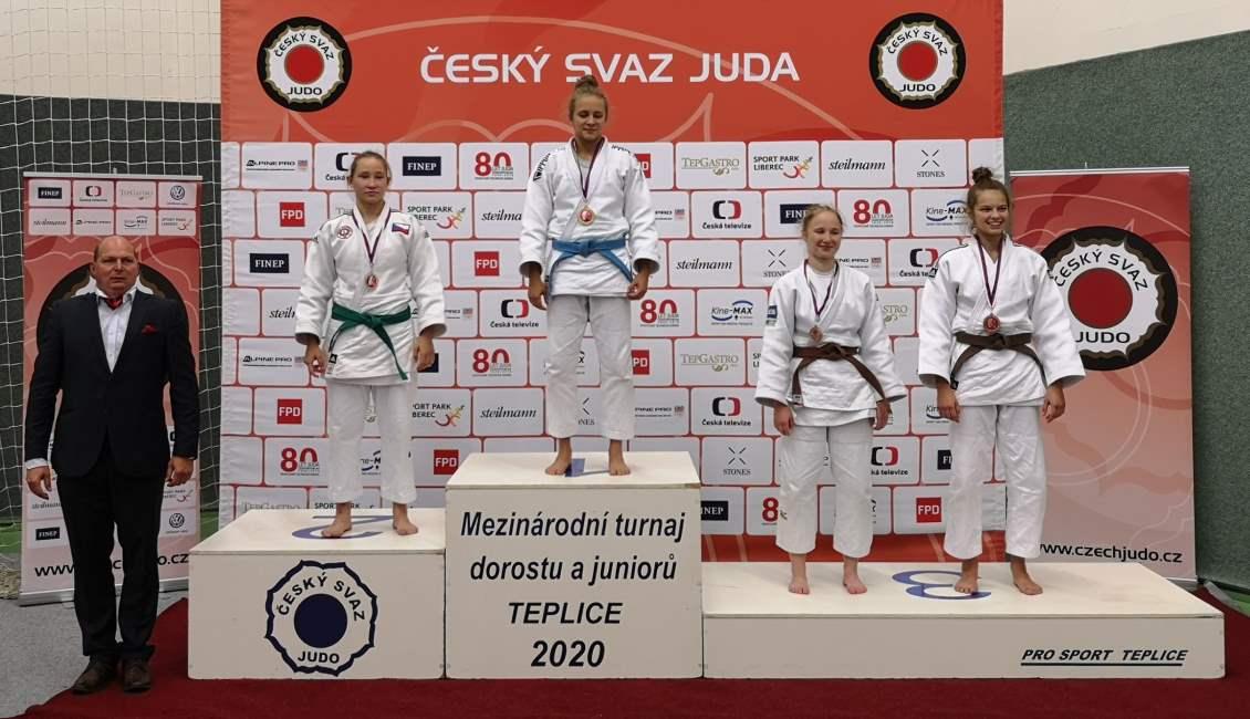 Oliwia Wątorek zdobywa III miejsce w Międzynarodowym Turnieju Judo w Teplicach / Czechy