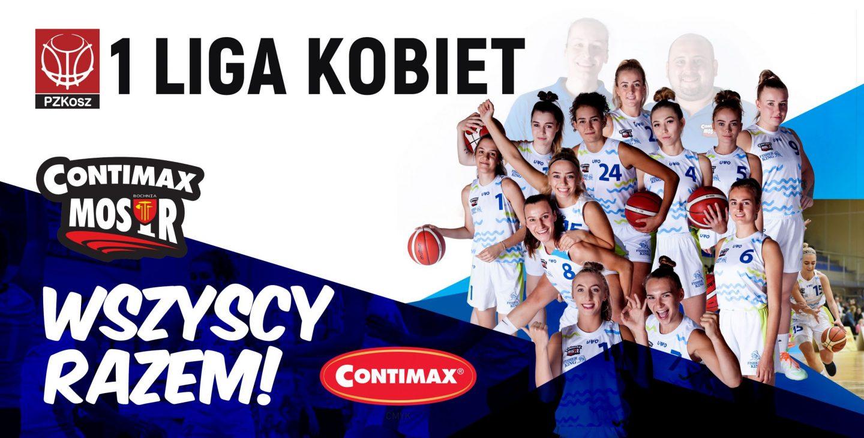 Archiwizacja składu zespołu 1 ligi koszykówki kobiet w sezonie 2021/2022