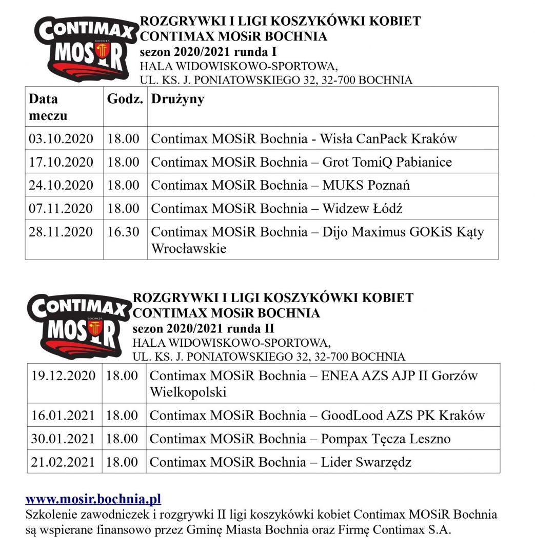 Zarezerwuj czas na mecze I Ligi Koszykówki Kobiet w Bochni!