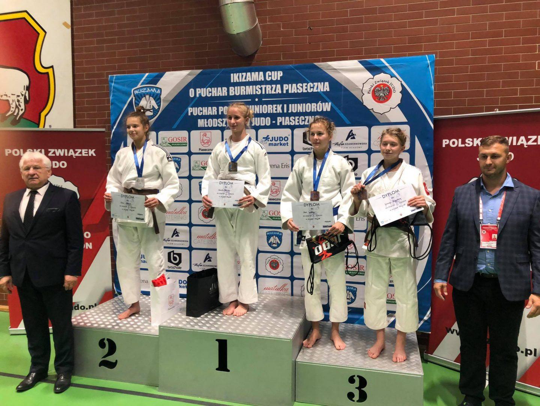 Srebro i V miejsce na Pucharze Polski Juniorek Młodszych i Juniorów Młodszych w Piasecznie, 27.09.2020