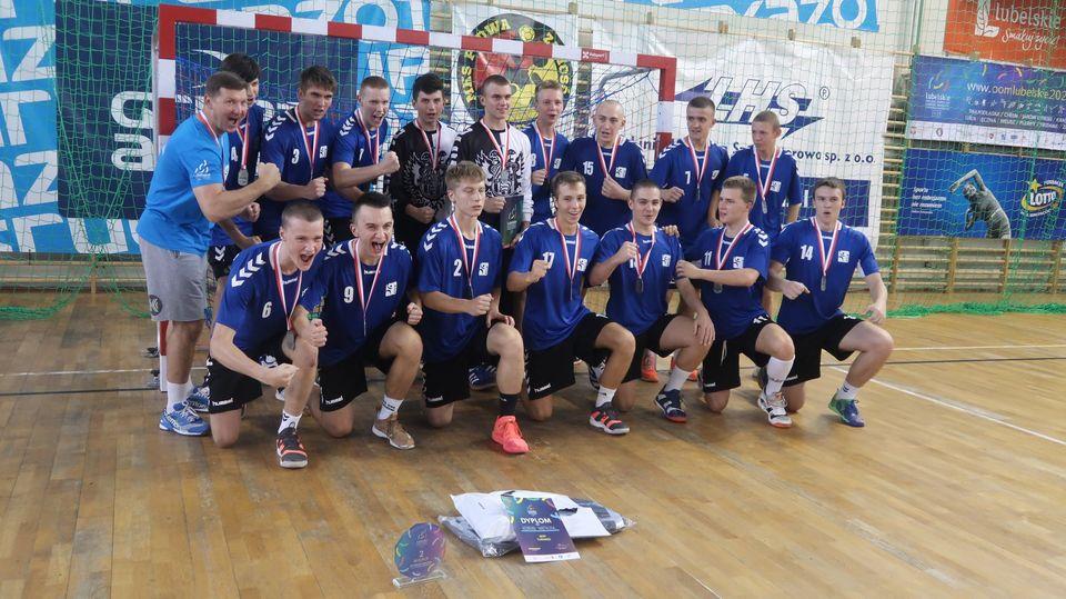 Małopolska ze srebrnym medalem XXVI OOM w Piłce Ręcznej Chłopców z r. 2004, Zamość 11-16.09.2020