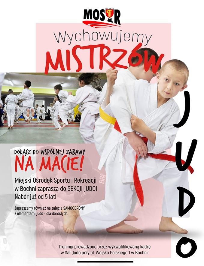 1 września rozpoczynamy treningi judo!