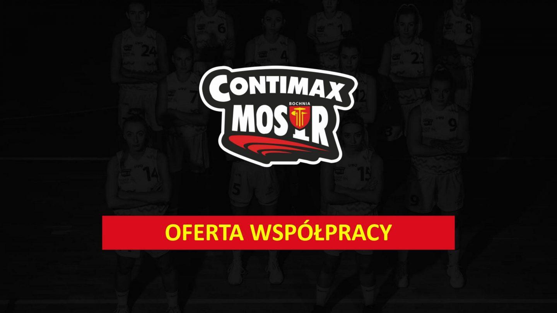 Wesprzyj pierwszoligowy zespół Contimax MOSiR Bochnia! Oferta sponsoringowa