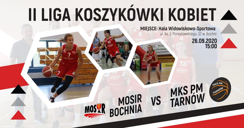 Inauguracja sezonu 2 Ligi Koszykówki Kobiet! Zapraszamy na mecz MOSiR Bochnia – MKS Pałac Młodzieży Tarnów 26.09.2020