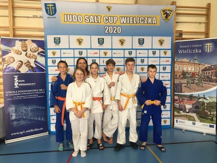 """6 medali na """"Judo Salt CUP Wieliczka 2020""""!"""