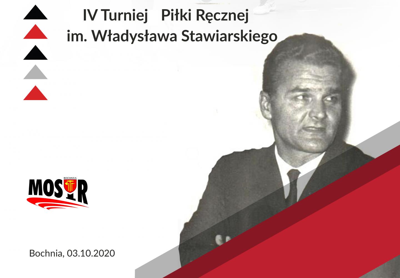 IV Turniej Piłki Ręcznej im. Władysława Stawiarskiego, 03.10.2020