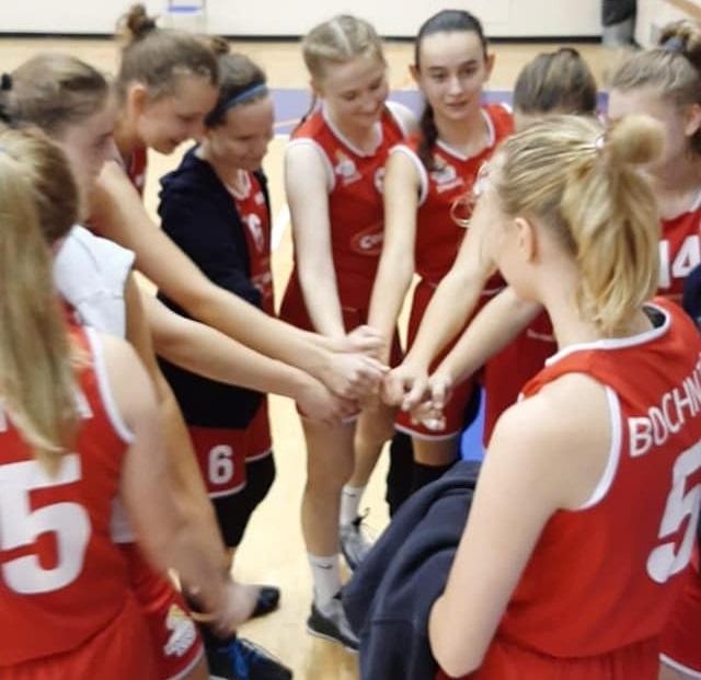 Dobry mecz juniorek MOSiR Bochnia / Małopolska Liga Koszykówki