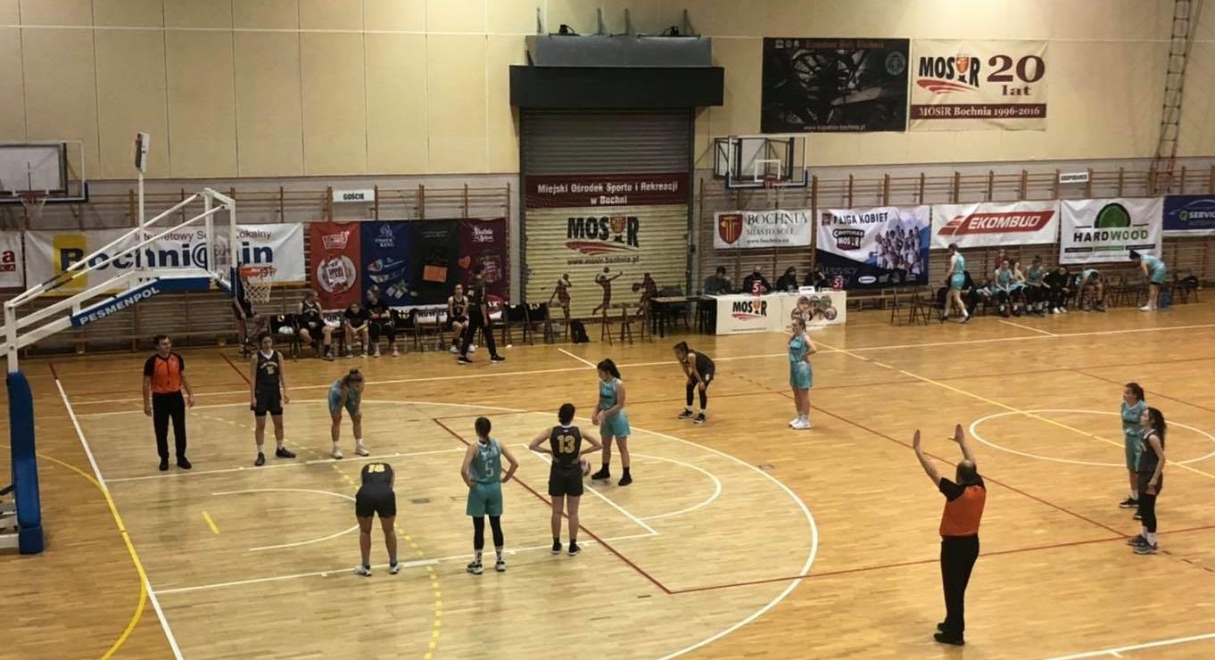 Wysoka wygrana MOSiR Bochnia z Rzeszowem / 2 Liga Koszykówki Kobiet