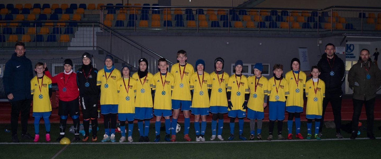 II miejsce MOSiR Bochnia na Turnieju Piłki Nożnej Kolejarz Winter CUP Młodzików