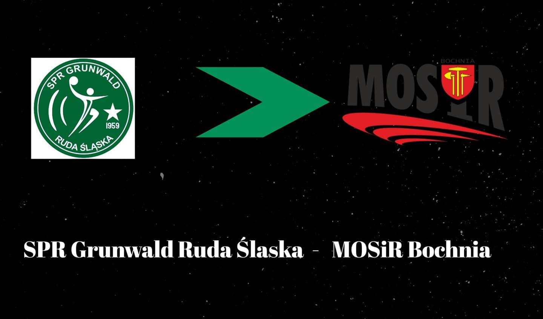 SPR Grunwald Ruda Śląska – MOSiR Bochnia 38:21 (15:10) / II Liga Piłki Ręcznej Mężczyzn