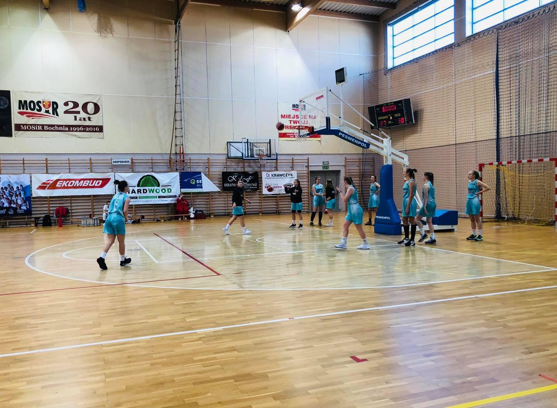 Wysokie zwycięstwo MOSiR Bochnia nad UKS Żak Nowy Sącz / Małopolska Liga Koszykówki Juniorek
