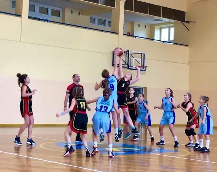 UMKS Gracz Starachowice – MOSiR Bochnia 38:67 / liga młodziczek U13