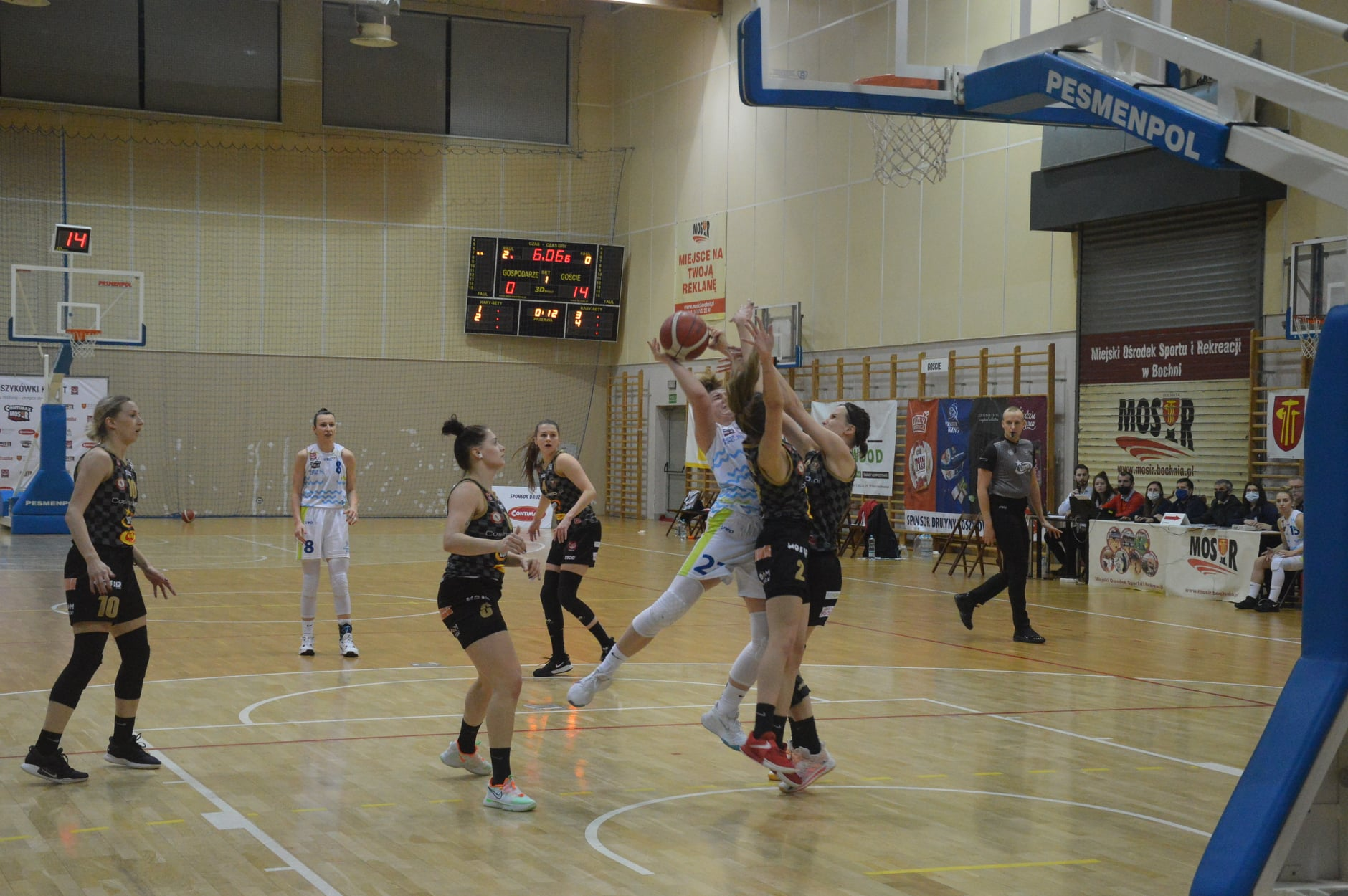Contimax MOSiR Bochnia – AZS Umed Widzew Łódź 63:74 / 1 Liga Koszykówki Kobiet