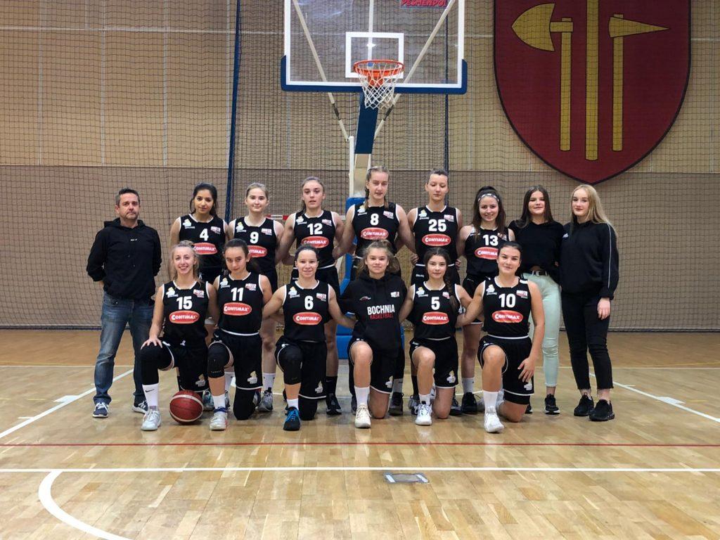 Wysoka wygrana MOSiR Bochnia w Kamienicy Polskiej / 2 Liga Koszykówki Kobiet