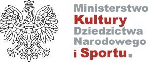 Logo ministerstwa MKDN i Sportu