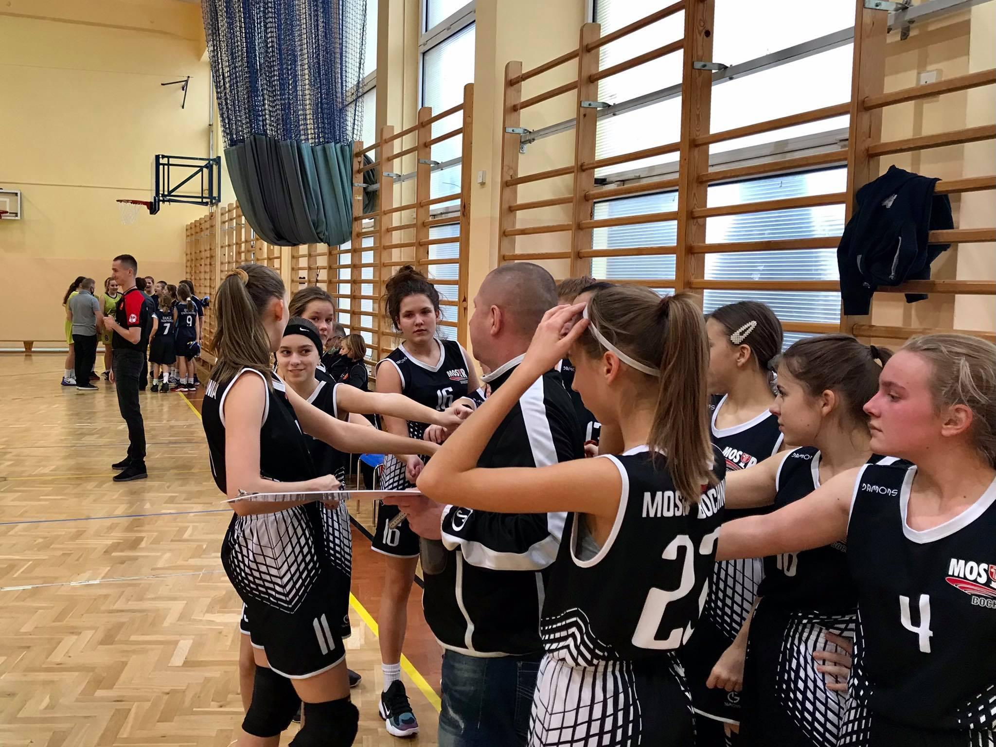 UMKS Gracz Starachowice – MOSiR Bochnia 43:116 / Małopolska Liga Koszykówki Kadetek B