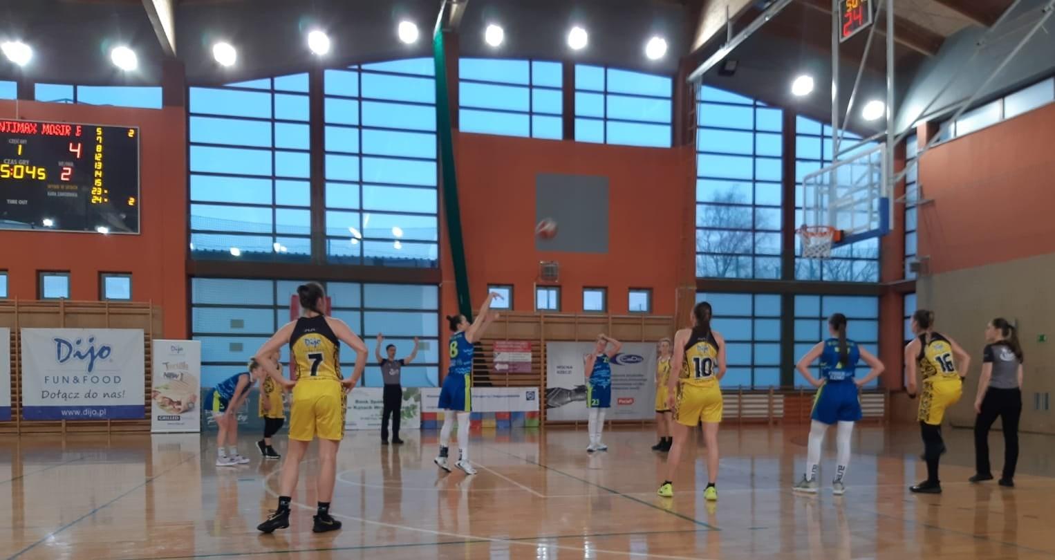 Mecz 1 ligi koszykówki kobiet 14.02.2021 r.