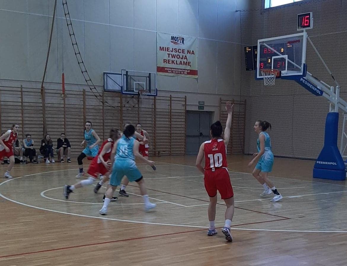 Juniorki U17 - mecz MOSir Bochnia - Wisła CANPACK II Kraków