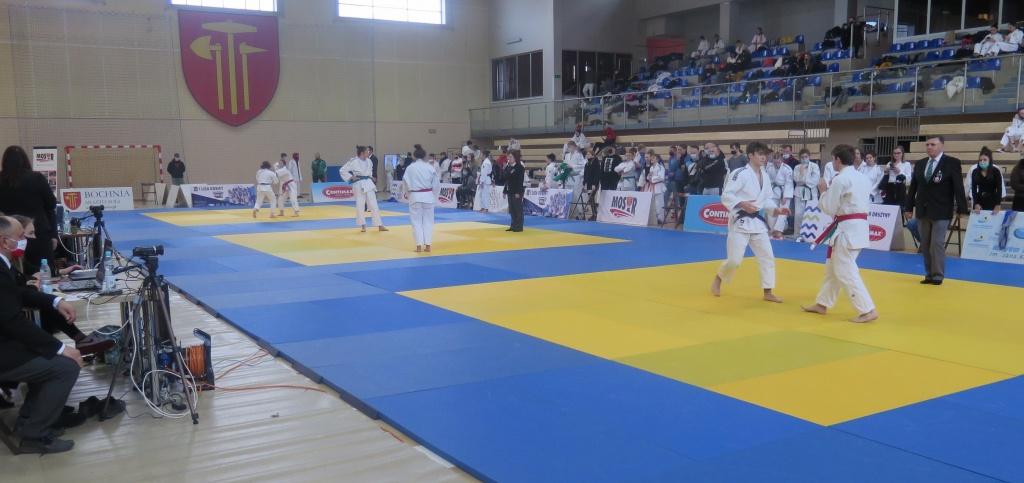 I Eliminacje do OOM w judo, Bochnia 20.03.2021; walki na matach