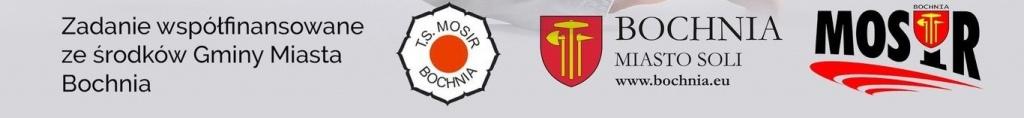 Loga współorganizatorów I Eliminacji OOM w Judo, Bochnia 20.03.2021