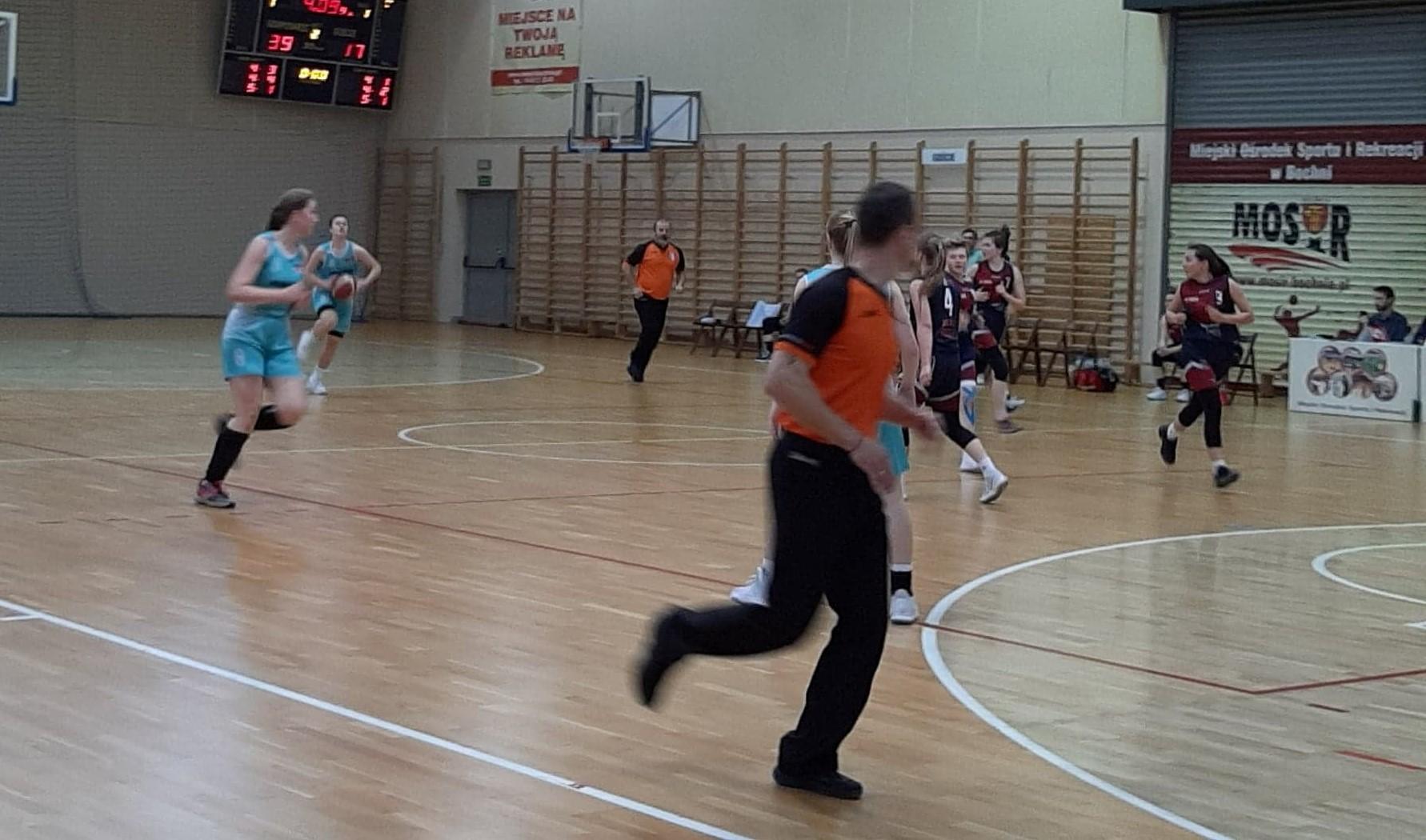 mecz 2 ligi koszykówki kobiet 25.04.2021