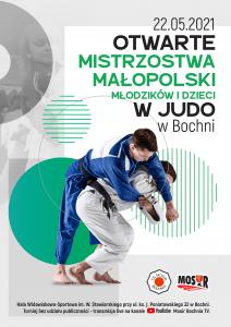 Plakat Otwarte Mistrzostwa Małopolski, Bochnia 22.05.2021