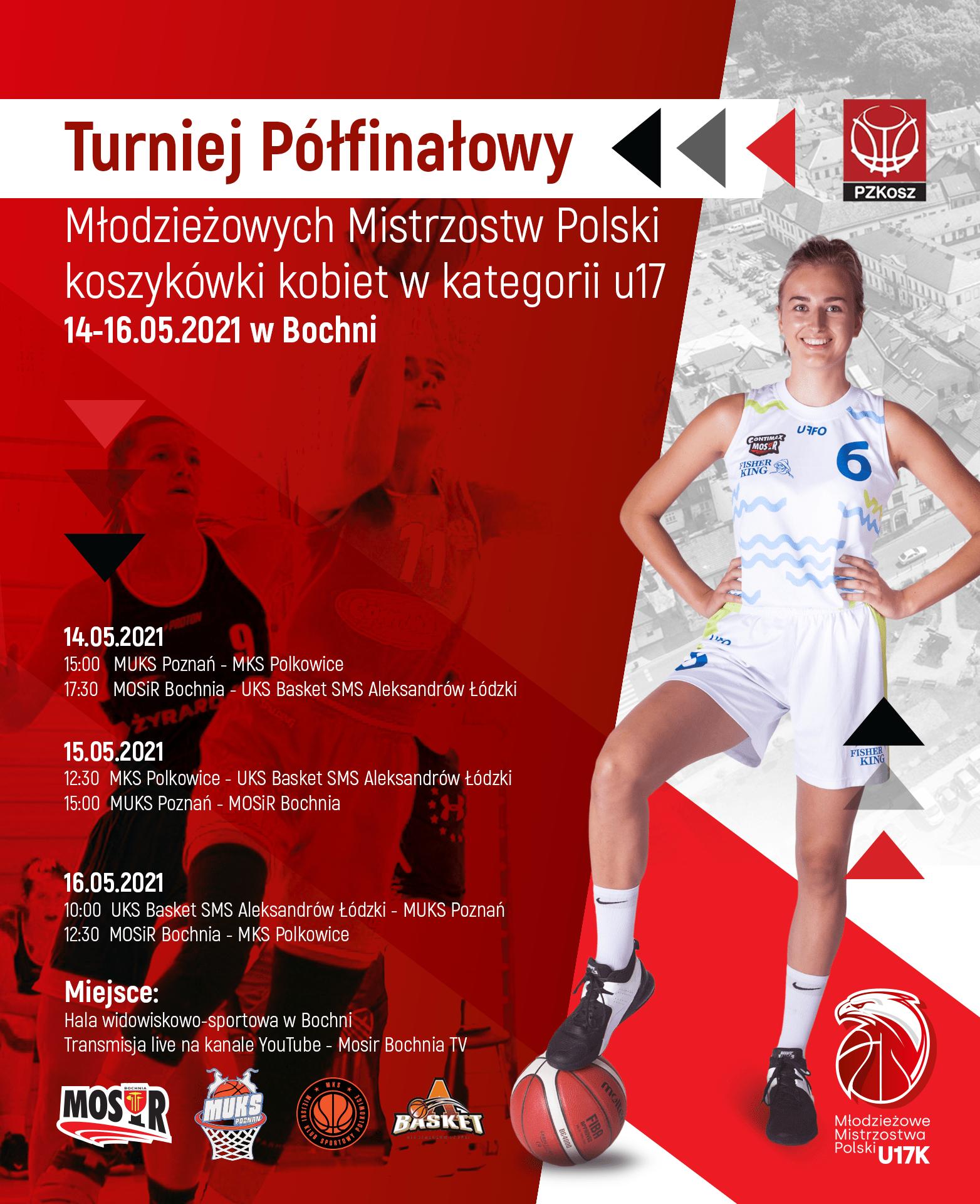 MOSiR Bochnia organizatorem Turnieju ½ finału Młodzieżowych Mistrzostw Polski do lat 17!