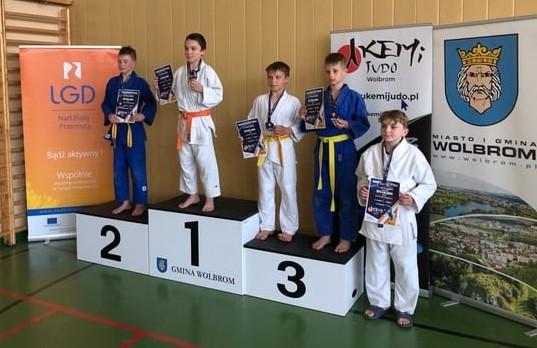 2 Otwarte-Mistrzostwa-Wolbromia-w-Judo-06.06.2021, dekoracja