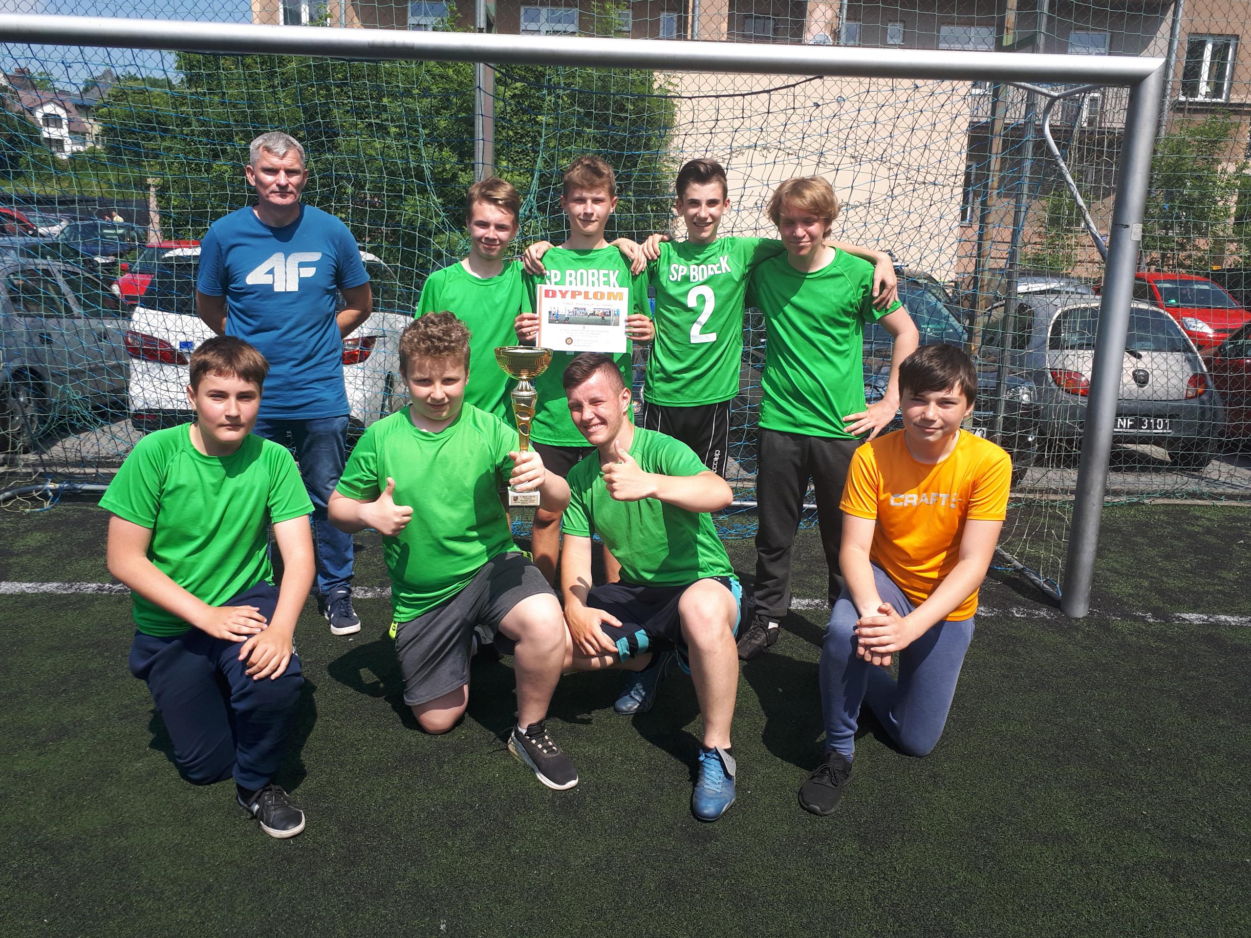 Piłka nożna chłopców – Igrzyska Młodzieży Szkolnej – zawody powiatowe