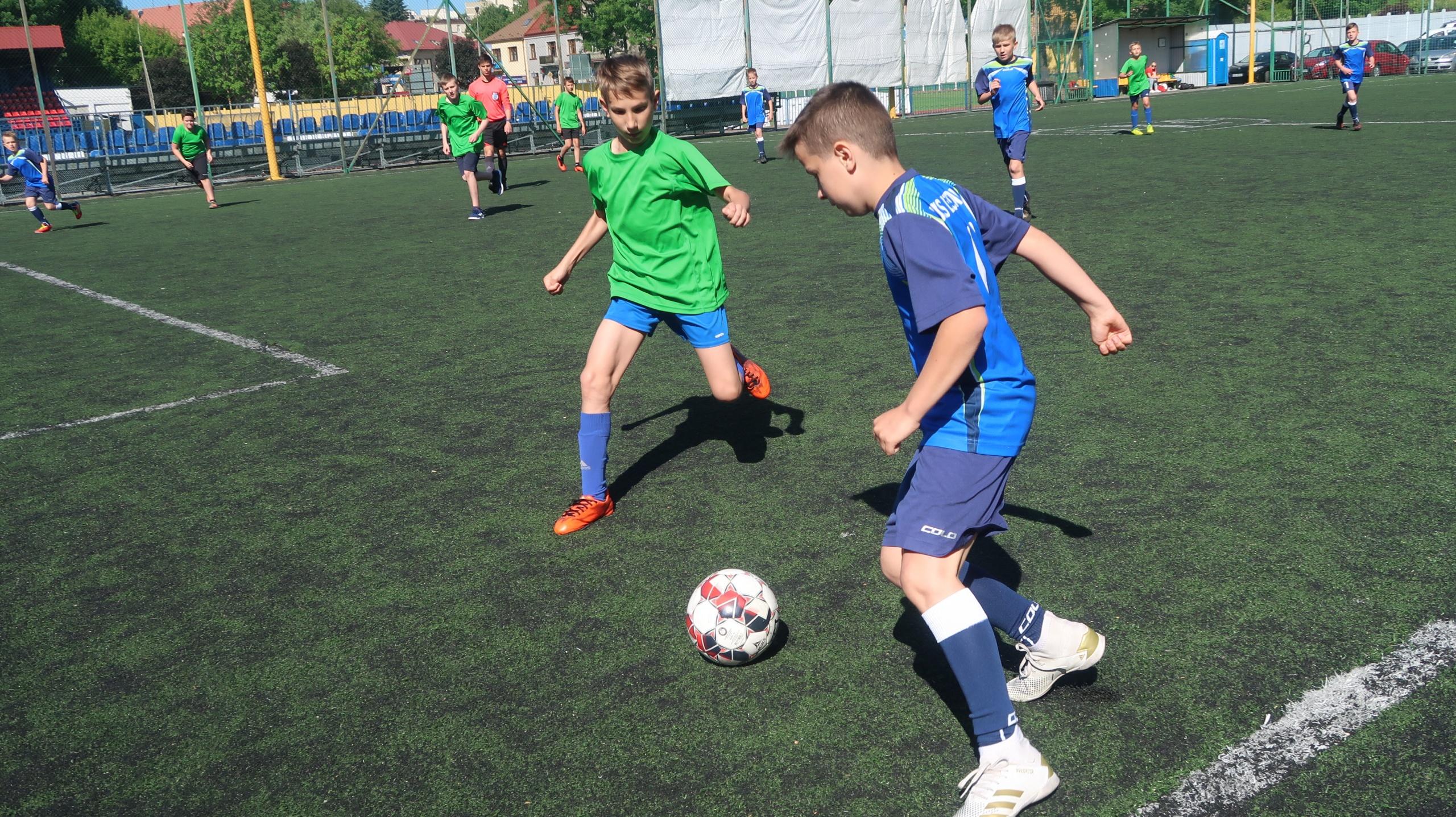 Piłka nożna chłopców – Igrzyska Dzieci– zawody powiatowe