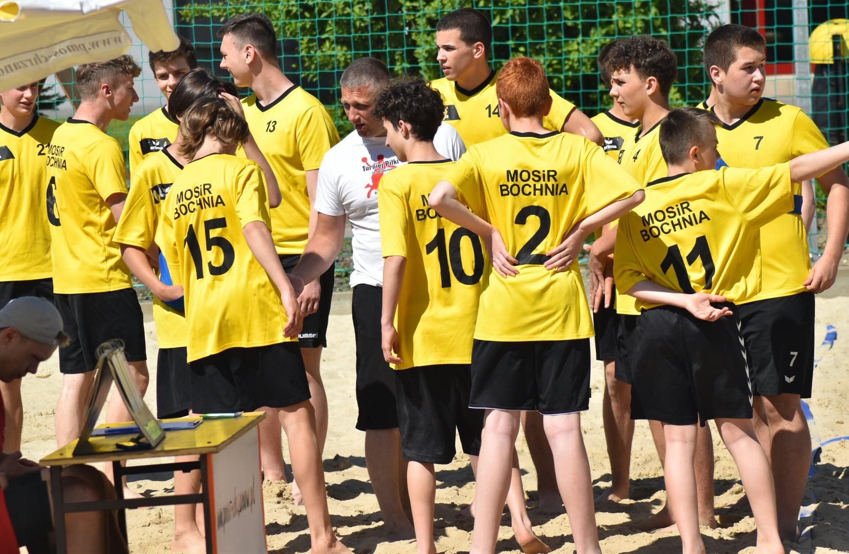 MOSiR Bochnia na Mistrzostwach Małopolski w Piłce Ręcznej Plażowej, Chrzanów 2021