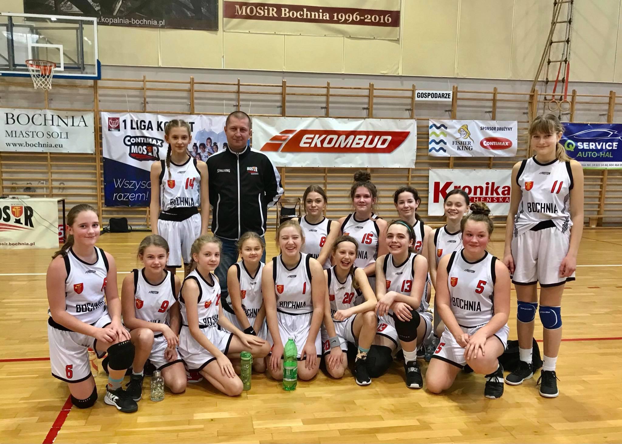 Podsumowanie koszykarskiego sezonu: młodziczki (U13)