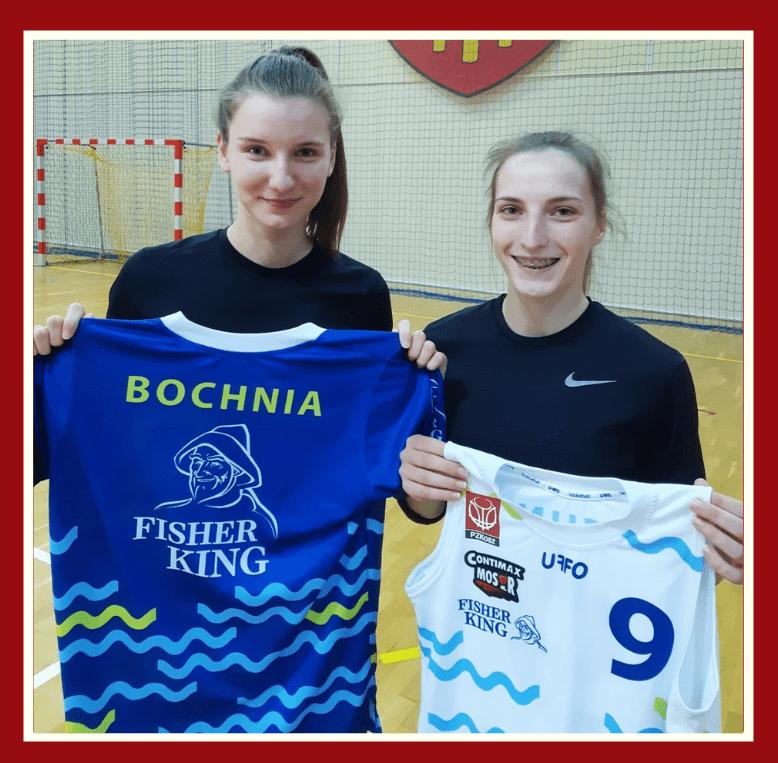 Anita Plucińska i Magdalena Szkop zawodniczkami Contimax MOSiR Bochnia