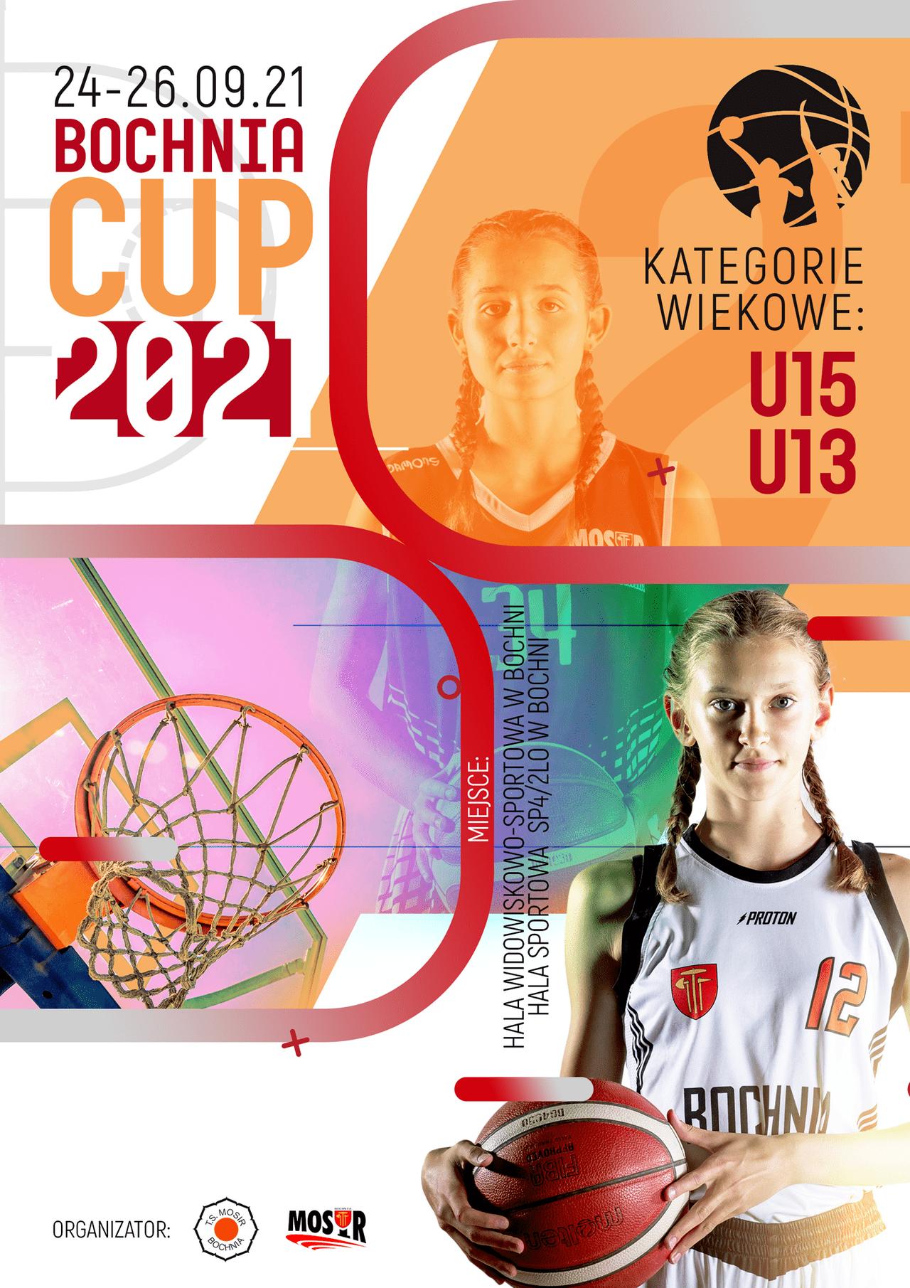 XII Międzynarodowy Festiwal Koszykówki Dziewcząt Bochnia CUP, 24-26.09.2021