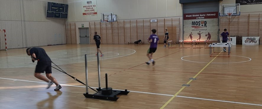 Szczypiorniści przed sezonem: trening juniorów młodszych
