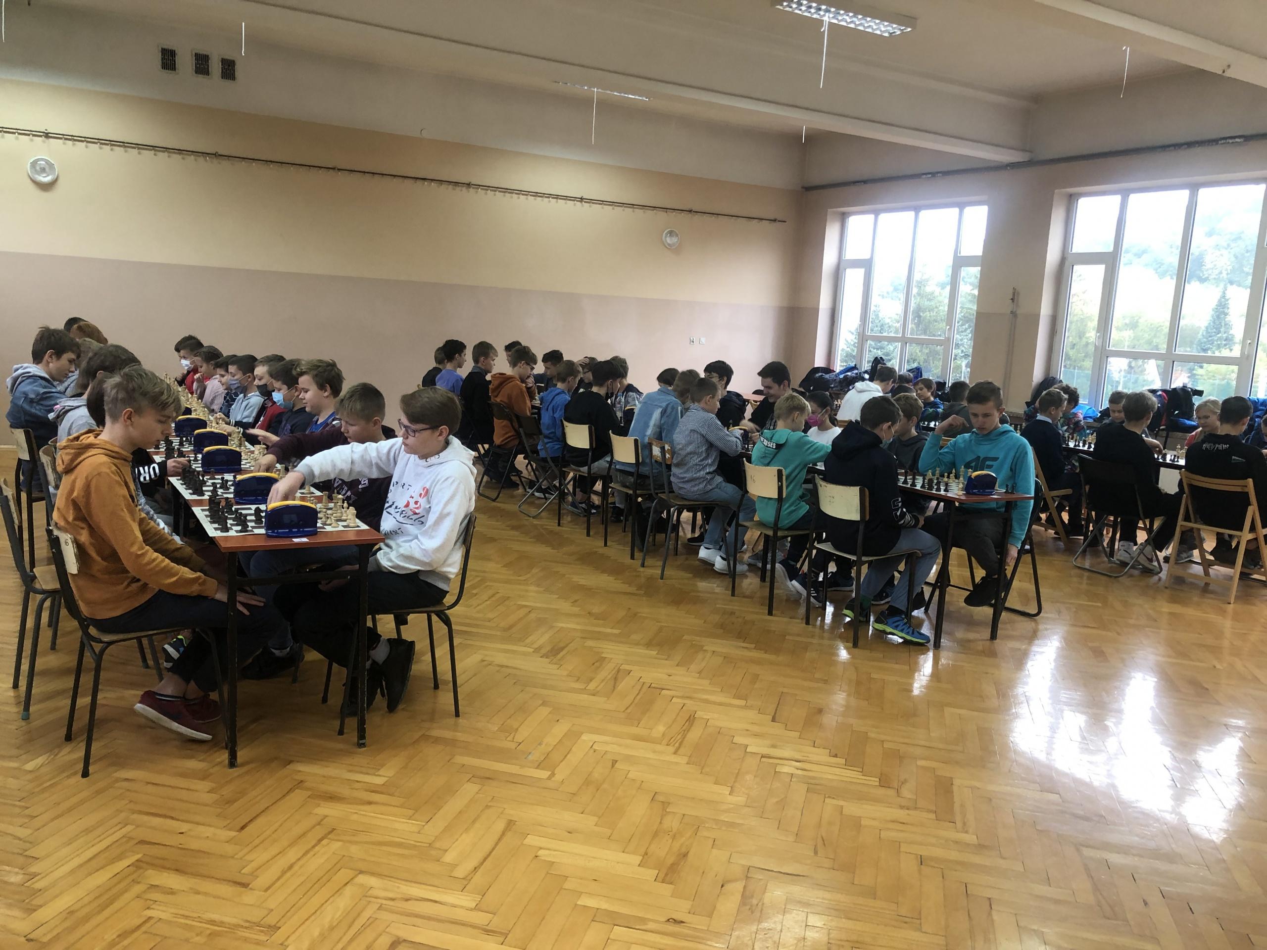 Międzyszkolna Liga Szachowa – runda I