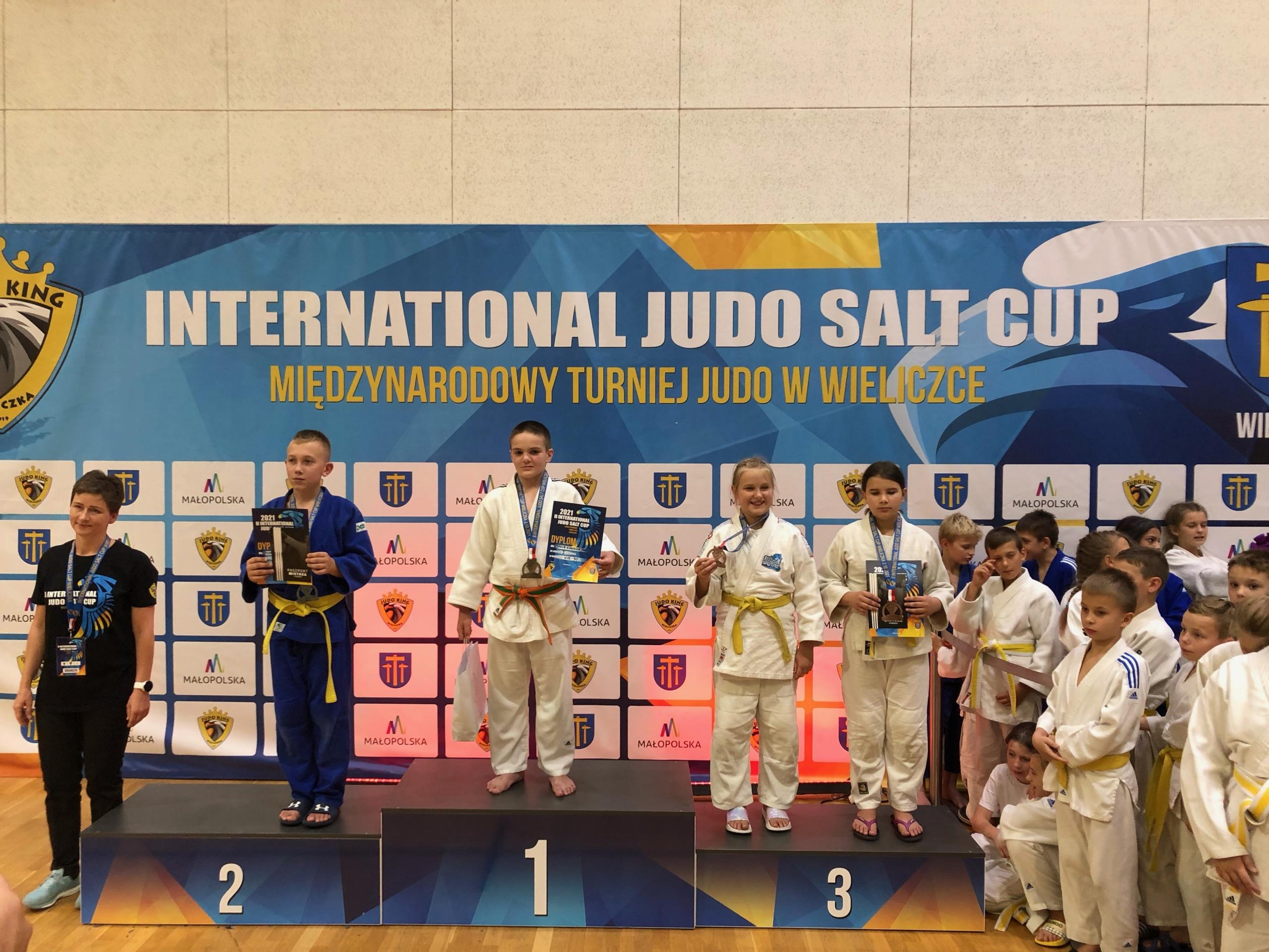 """5 medali MOSiR Bochnia w III Międzynarodowym Turniej Judo """"Salt CUP"""" w Wieliczce"""